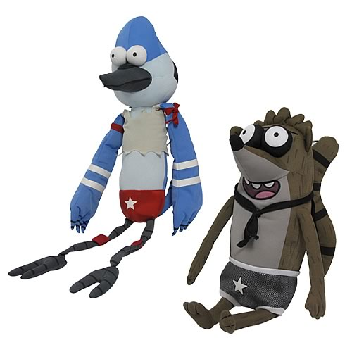 Regular Show 20-Inch Stylized Talking Wrestling Buddy Case