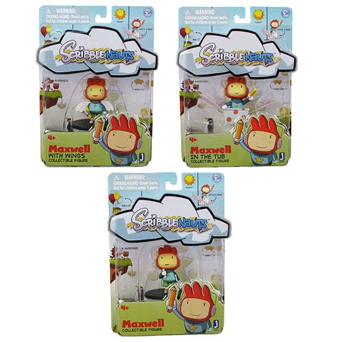 Scribblenauts 2-Inch Mini-Figure Single Pack Case