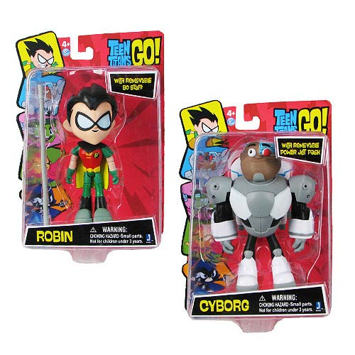Teen Titans 5-Inch Series 1 Action Figure Set