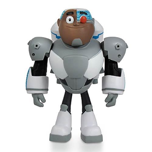 Teen Titans Toys Action Figures : Teen titans go cyborg inch action figure jazwares