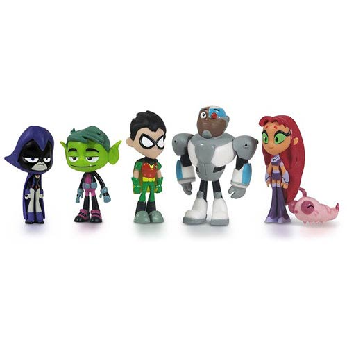 Teen Titans 2-Inch Action Figure 6-Pack