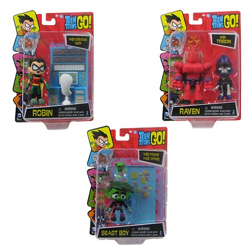 Teen Titans Toys Stuff : Teen titans go inch action figure with accessory set