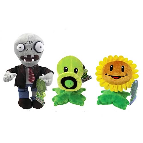 Plants vs. Zombies 7-Inch Plush Case