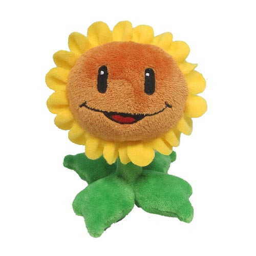 Plants vs. Zombies Sunflower 6-Inch Plush