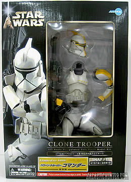 Clone Trooper Commander Kit