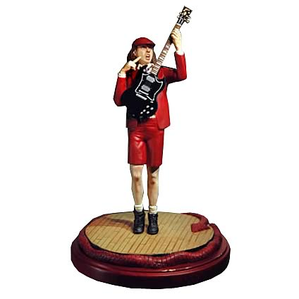 AC/DC Angus Young Rock Iconz Statue