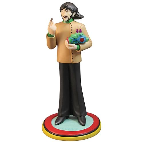 Beatles Yellow Submarine George Harrison Statue