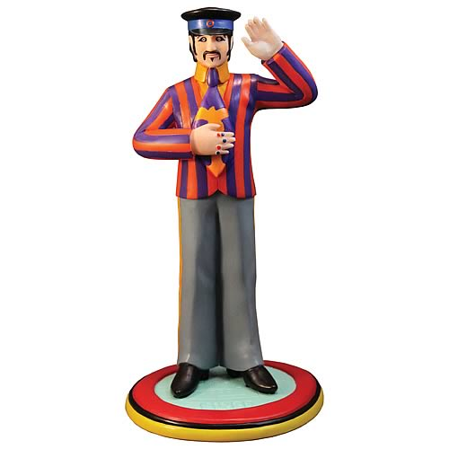 Beatles Yellow Submarine Ringo Starr Statue