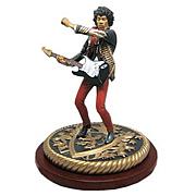 Color Rock Iconz Jimi Hendrix Figure Statue