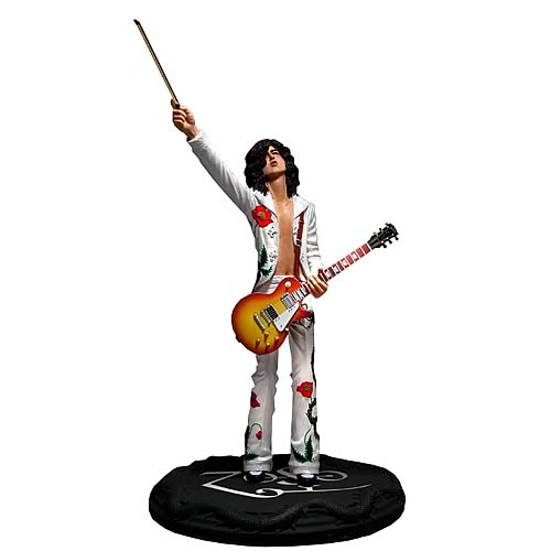 Led Zeppelin Jimmy Page Rock Iconz Statue