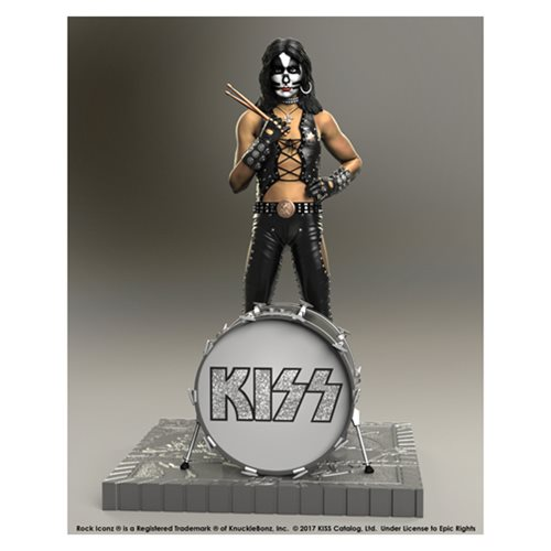 KISS Hotter Than Hell Peter Criss Rock Iconz Statue