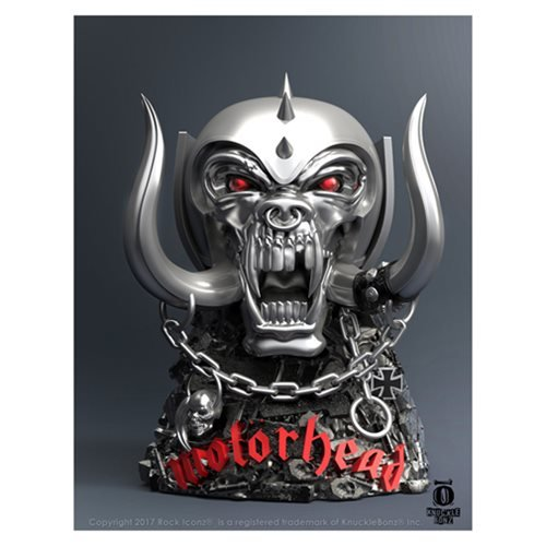 Motorhead Warpig Rock Iconz Statue