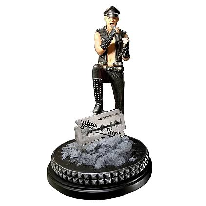 Judas Priest Rob Halford Rock Iconz Statue