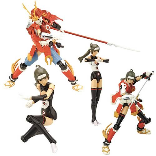 Busou Shinki Samurai Benio Action Figure