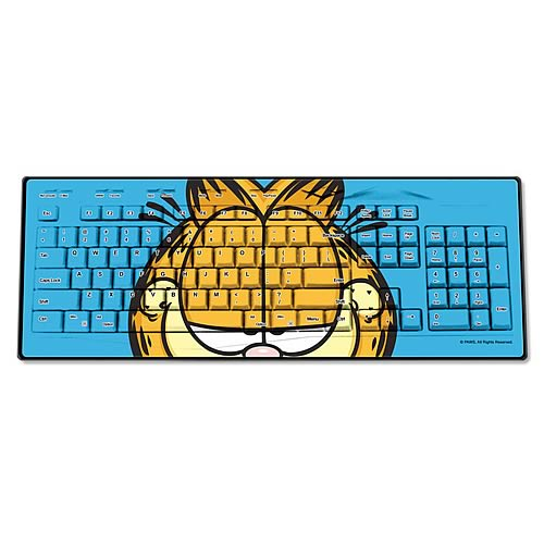 Garfield Face Wireless Keyboard