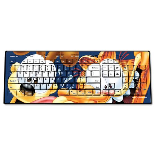 Garfield Crazy Wired Keyboard