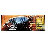 Star Trek Original Series Captain Kirk Wired Keyboard