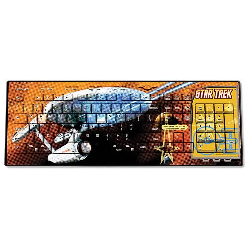 Star Trek Original Series Captain Kirk Wired Keyboard