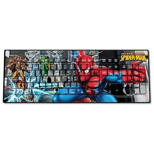 Marvel Spider-Man with Villains Wireless Keyboard