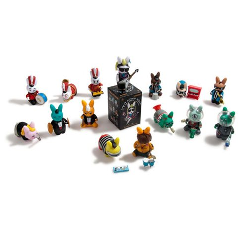 Kidrobot Band Camp 3000 Labbit Vinyl Mini-Figure 4-Pack