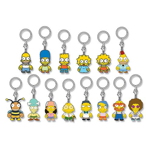The Simpsons Vinyl Mini-Figure Key Chain Display Box