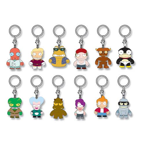 Futurama Vinyl Mini-Figure Key Chain 4-Pack