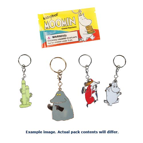 Moomin Enamel Key Chain 5-Pack