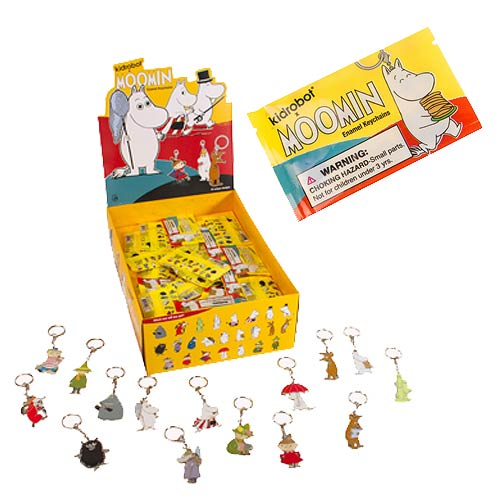 Moomin Enamel Key Chain Display Box