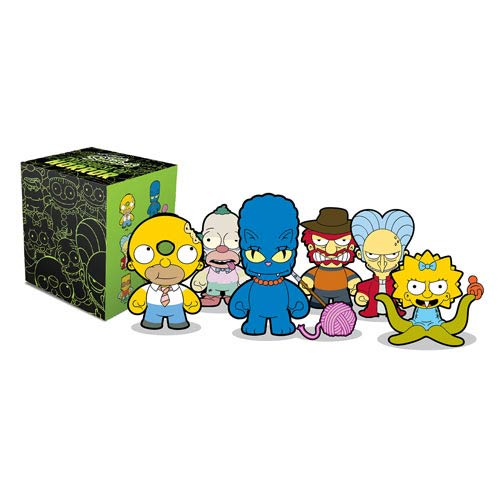 The Simpsons Tree House Of Horrors Vinyl Mini-Figure 4-Pack