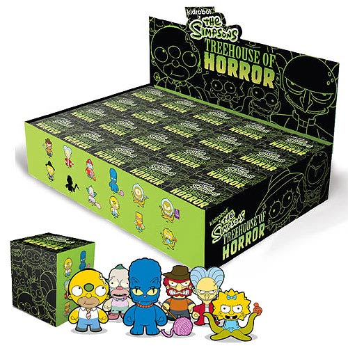 Simpsons Tree House Of Horrors Vinyl Mini-Figure Display Box