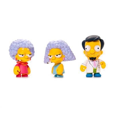 The Simpsons Series 2 Vinyl Mini-Figure 4-Pack
