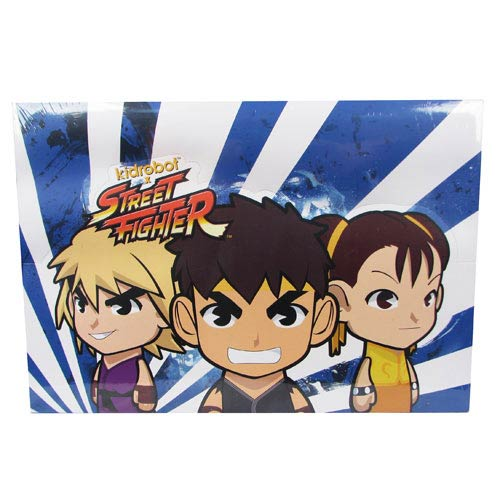 Street Fighter Series 2 Vinyl Mini-Figure Display Box