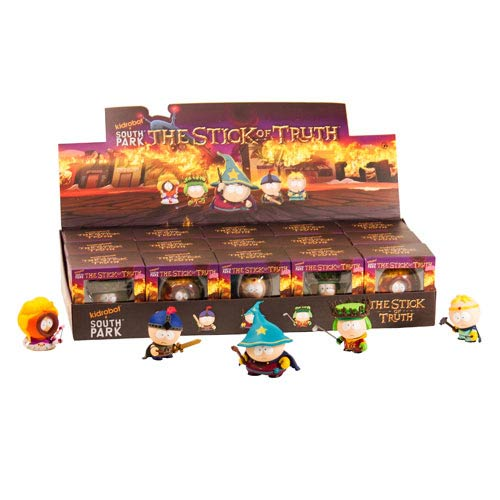 South Park Stick of Truth Game Vinyl Mini-Figure Display Box