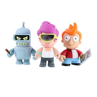 Futurama Vinyl Mini-Figure Display Box