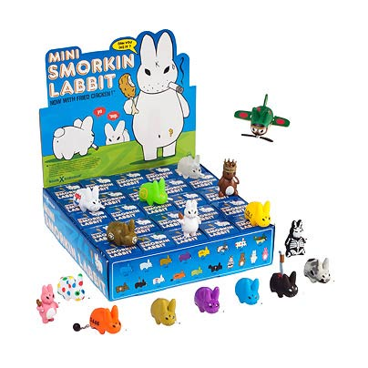 Smorkin Labbit Vinyl Mini-Figure 5-Pack