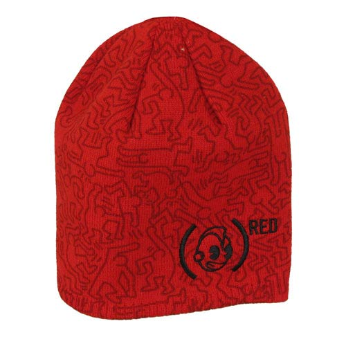 Kidrobot x (Red) by Keith Haring Beanie