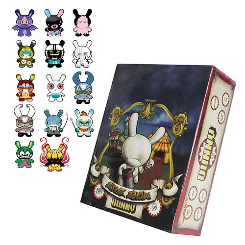 Kidrobot Dunny 2013 Vinyl Mini-Figure Display Box