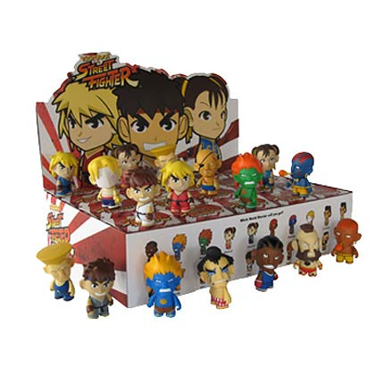 Street Fighter Series 1 Vinyl Mini-Figure Display Box