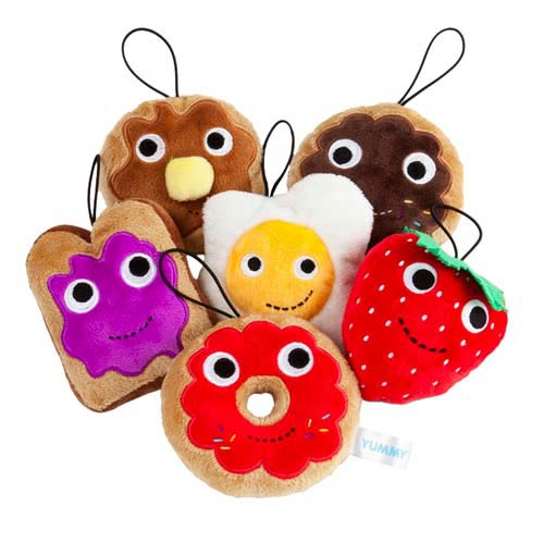 Kidrobot YUMMY Breakfast Random Small Plush