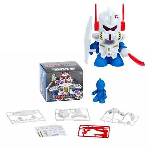 Kidrobot Bot Mini Dam Gun 3-Inch White Vinyl Figure