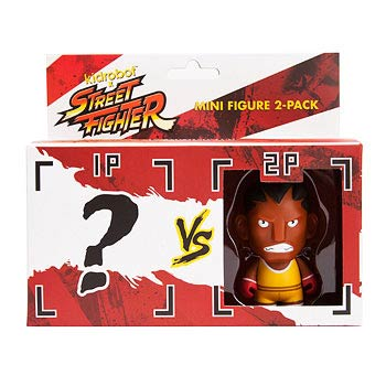 Street Fighter Balrog Vinyl Mini-Figure 2-Pack