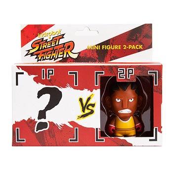 Street Fighter Balrog Vinyl Mini-Figure 2-Pack