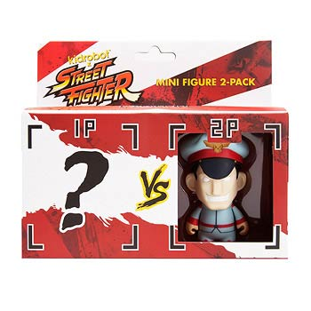 Street Fighter M. Bison Vinyl Mini-Figure 2-Pack