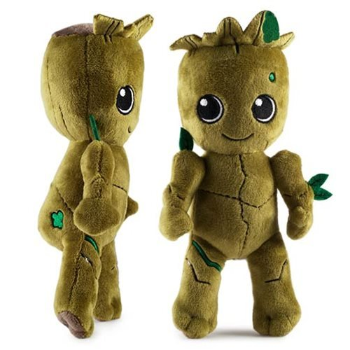 guardians of the galaxy baby groot phunny plush kidrobot guardians of the galaxy plush at. Black Bedroom Furniture Sets. Home Design Ideas