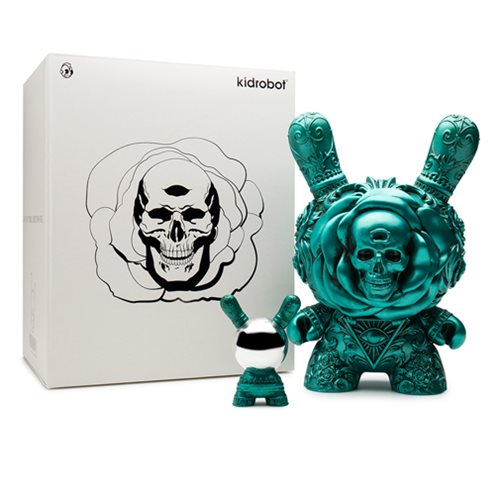 Arcane Divination The Clairvoyant 8-Inch Dunny Teal Figure