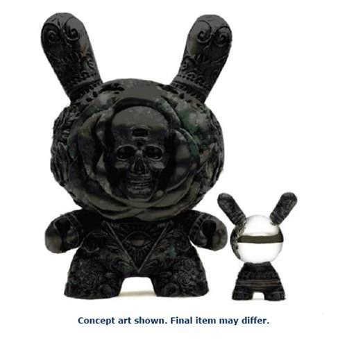 Arcane Divination The Clairvoyant 20-Inch Antique Black Dunny Figure