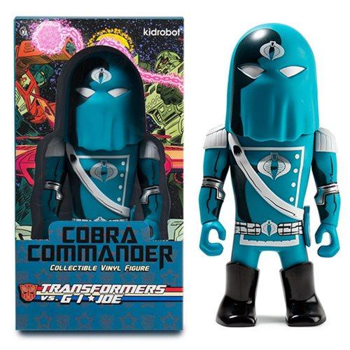 Transformers vs. G.I. Joe Cobra Commander Vinyl Figure