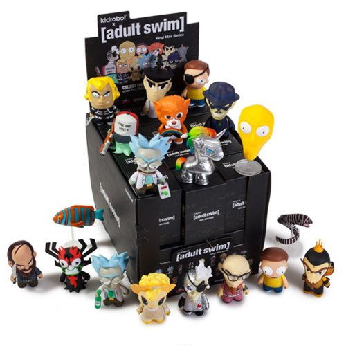 Adult Swim Mini Figure Display Box Kidrobot Adult Swim