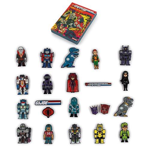 Transformers vs. G.I. Joe Enamel Pin Series Display Box