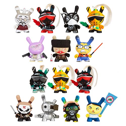Art of War Dunny 2014 Vinyl Mini-Figure Display Box